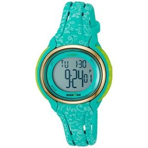 Timex TW5M03100 Ironman Women's Blue Resin Band